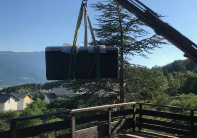 Installation d'un spa à Embrun (Hautes-Alpes)